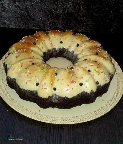 طرز تهیه کیک کارامل خوشمزه + تزیین