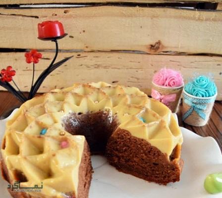 طرز تهیه کیک کارامل خوش طعم + فیلم آموزشی
