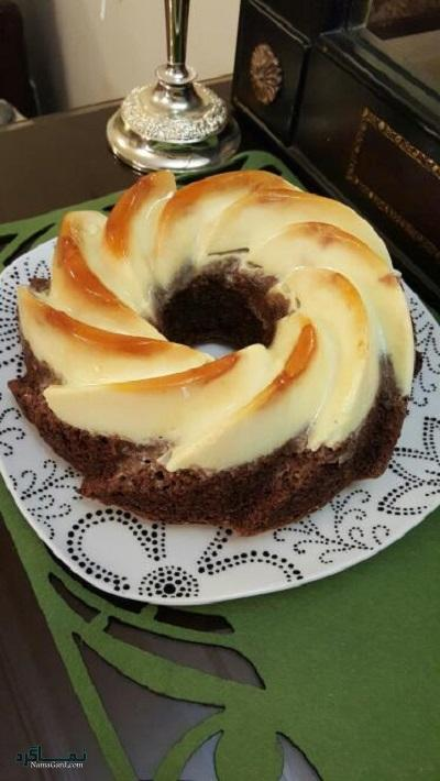 کیک کارامل مجلسی