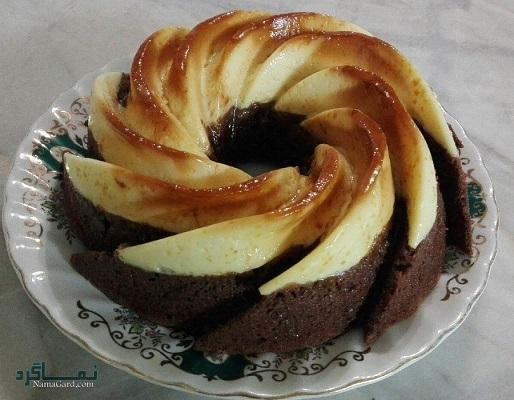 طرز تهیه کیک کارامل خوشمزه