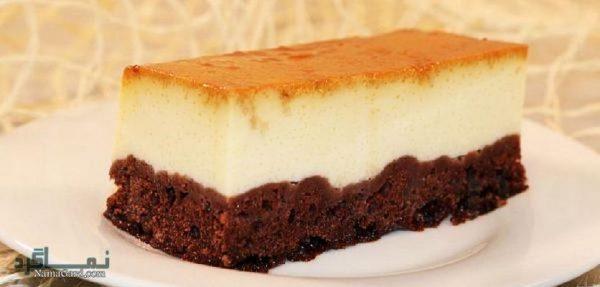 طرز تهیه کیک کارامل