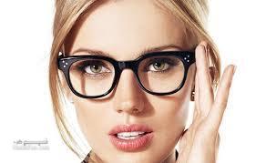 آرایش صورت با عینک