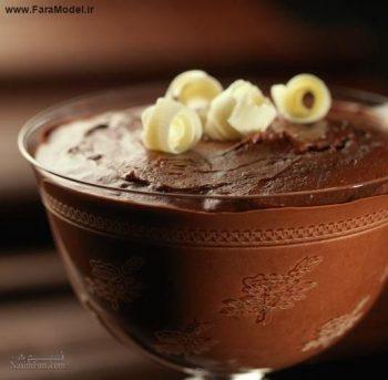 طرز تهیه دسر موس شکلاتی