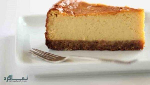 طرز تهیه چیز کیک نیویورکی خوشمزه + تزیین