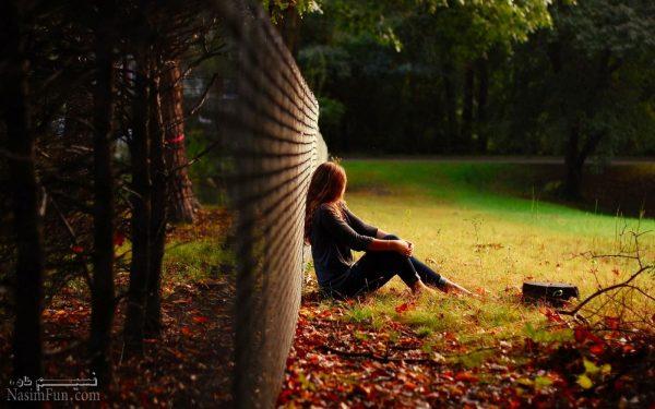 عکس نوشته شیک پاییزی دخترانه