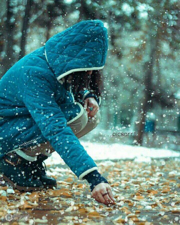 عکس پروفایل زمستانی دخترونه | عکس پروفایل دخترانه زمستانه