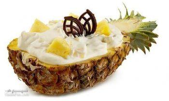 طرز تهیه دسر ماست و آناناس خوشمزه