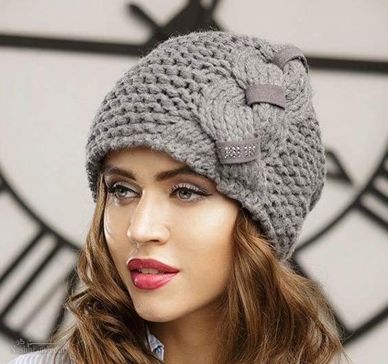 جدیدترین مدل های کلاه بافتنی دخترانه۲۰۱۹