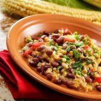 طرز تهیه خوراک ذرت و لوبیا آمریکایی لذیذ و دلچسب