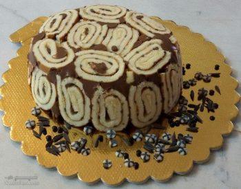 طرز تهیه دسر شارلوت شکلاتی خوشمزه + تزیین
