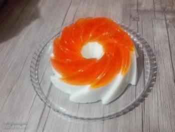 طرز تهیه پاناکوتا پرتقالی خوش طعم + فیلم آموزشی
