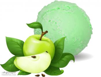 طرز تهیه بستنی سیب خوش طعم + فیلم آموزشی