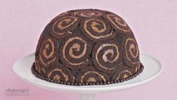 طرز تهیه دسر شارلوت شکلاتی خوش طعم