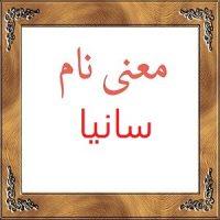 معنی اسم سانیا – معنی سانیا + معنی نام های دخترانه ایرانی