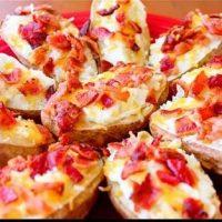 طرز تهیه خوراک سیب زمینی با پنیر خوشمزه و دلچسب