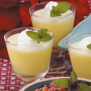 طرز تهیه پودینگ لیمو خوش طعم