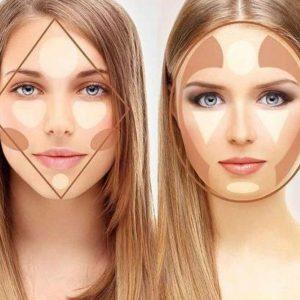 کانتور چیست ؟طرز استفاده آن در آرایش صورت +تصاویر