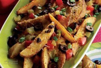 طرز تهیه خوراک تره فرنگی و سیب رژیمی خوشمزه