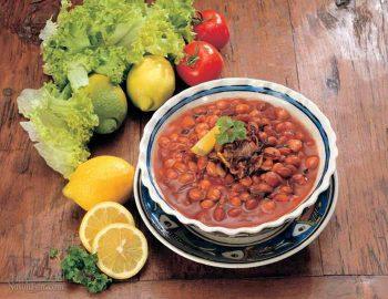 طرز تهیه خوراک لوبیا با سویا لذیذ و خوشمزه