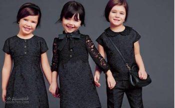 مدل های پیراهن مشکی دخترانه برای محرم