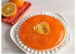 طرز تهیه پاناکوتا پرتقالی خوش طعم + تزیین