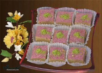 حلوای گل محمدی