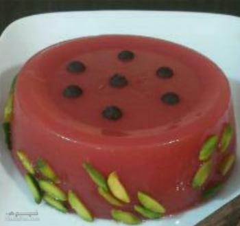 طرز تهیه دسر هندوانه خوش طعم و لذیذ