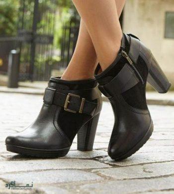 کفش زنانه (نیم بوت )