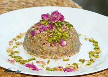 طرز تهیه حلوای گل محمدی خوشمزه و شیک