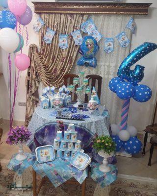 جشن تولد با تم فروزن