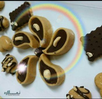 طرز تهیه حلوای فندقی خوشمزه + تزیین