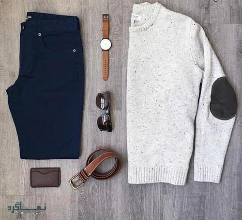 زیباترین ست های لباس مردانه برای پاییز