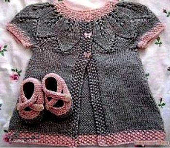 لباس بافتنی بچه گانه(دختر )