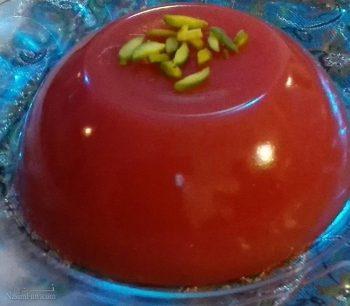 طرز تهیه دسر هندوانه خوش طعم + تزیین