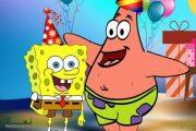 جشن تولد با تم تولد باب اسفنجی و پاتریک