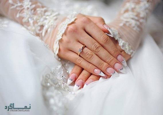 مدل ناخن عروس