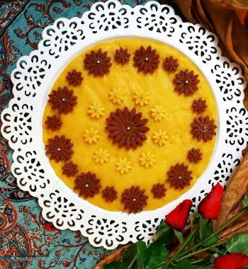 طرز تهیه حلوا آرد برنج خوشمزه + فیلم آموزشی