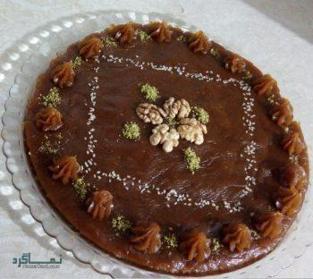 طرز تهیه حلوای عربی شیک