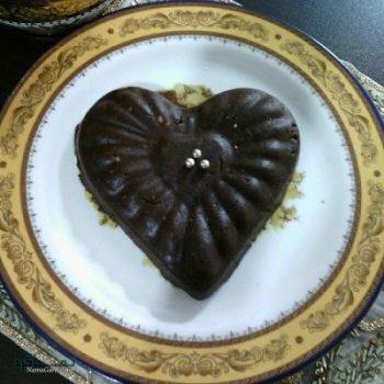 طرز تهیه حلوا شکلاتی خوش طعم + تزیین