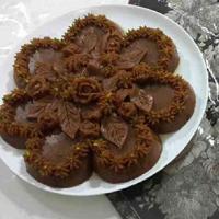 طرز تهیه حلوا شکلاتی خوشمزه و شیک + فیلم آموزشی