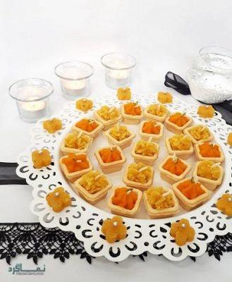 طرز تهیه حلوا نارگیلی خوشمزه + تزیین