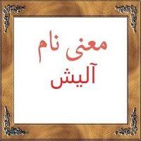 معنی نام آلیش | معنی آلیش + معنی نام های ایرانی