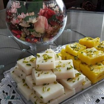 طرز تهیه حلوا شیرازی خوشمزه