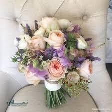 دسته گل عروس روستیک