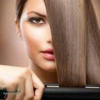 آموزش استفاده از اتوی مو