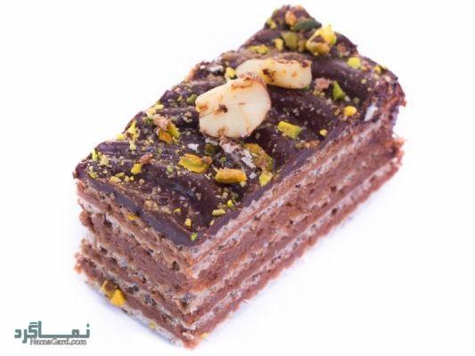 طرز تهیه شیرینی میکادو خوشمزه + فیلم آموزشی