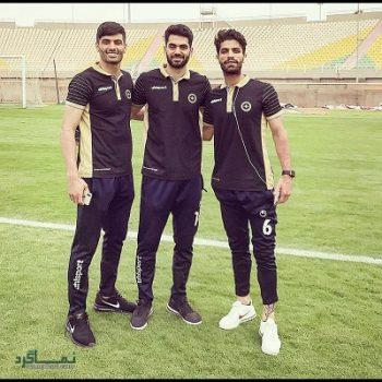 بیوگرافی میلاد سرلک بازیکن فوتبال و همسرش + تصاویر آنها