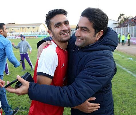 بیوگرافی محمد کریمی بازیکن فوتبال و همسرش + تصاویر آنها