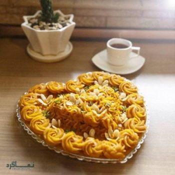 طرز تهیه حلوا پرتقالی خوش طعم + تزیین