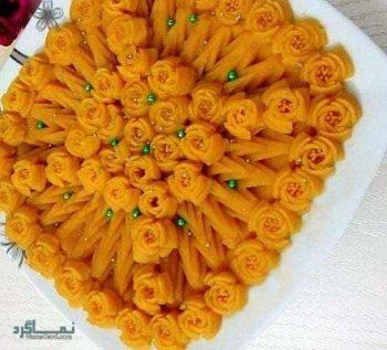 طرز تهیه حلوا پرتقالی خوشمزه + فیلم آموزشی